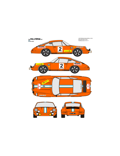 Porsche 911 Reverter Baviera 1970