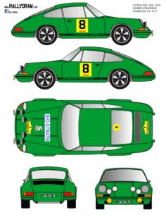 Porsche 911 Nunes Costa del Sol 1970