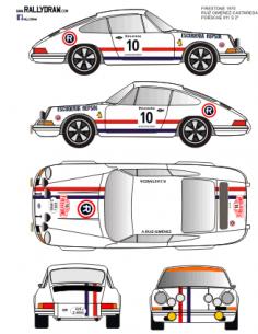 Porsche 911 Ruiz Gimenez Firestone 1970