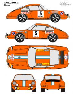 Porsche 911 Leal Ourense 1970