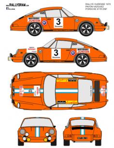 Porsche 911 Pavon Ourense 1970
