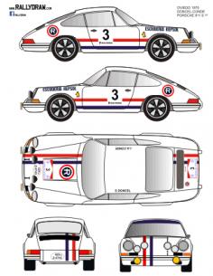 Porsche 911 Doncel Oviedo 1970
