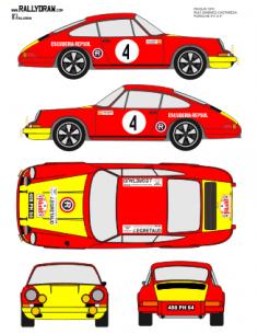 Porsche 911 Ruiz Gimenez Pikolin 1970