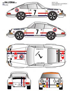 Porsche 911 Ruiz Gimenez Race 1970