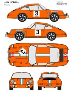 Porsche 911 Reverter Race 1970