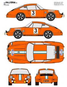 Porsche 911 Reverter Rias Bajas 1970