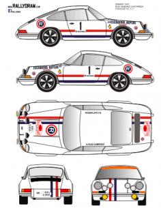 Porsche 911 Ruiz Gimenez Sherry 1970