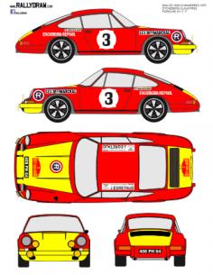Porsche 911 Etchebers VascoNavarro 1970