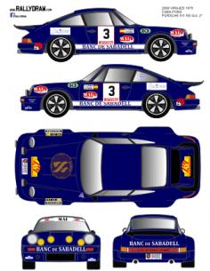 Porsche 911 Caba 2000 Virajes 1979