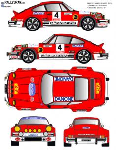 Porsche 911 Fernandez 2000 Virajes 1979