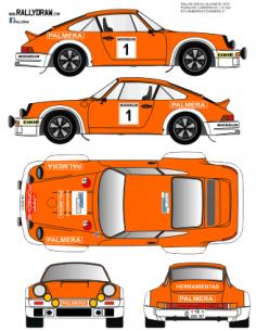Porsche 911 Estchebers 500km 1979