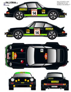 Porsche 911 Muñoz Race 1979