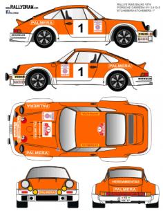Porsche 911 Etchebers Rias Bajas 1979