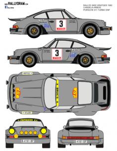 Porsche 911 Candela 2000 Virajes 1982