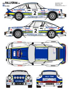 Porsche 911Beny Baviera 1982