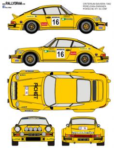 Porsche 911Perejoan Baviera 1982