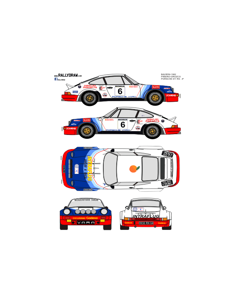 Porsche 911Piñeiro Baviera 1982