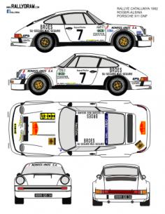 Porsche 911Roger Catalunya 1982