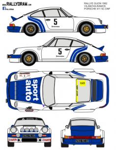 Porsche 911 Vilanova Gijon 1982
