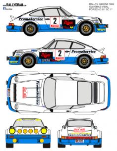 Porsche 911 Oliveras Girona 1982