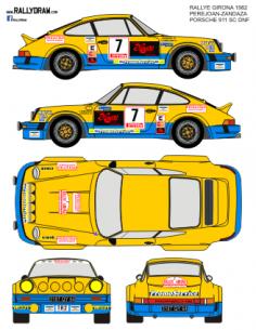 Porsche 911 Perejoan Girona 1982
