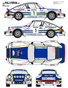 Porsche 911 Beny Llanes 1982