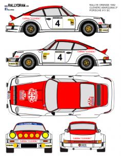 Porsche 911 Cleherc Ourense 1982