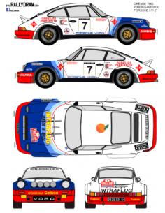 Porsche 911 Piñeiro Ourense 1982