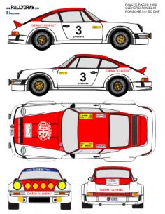 Porsche 911 Cleherc Pazos 1982