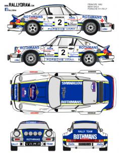 Porsche 911 Beny Principe 1982