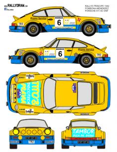 Porsche 911 Fombona Principe 1982