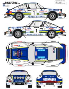 Porsche 911 Beny Rias Bajas 1982