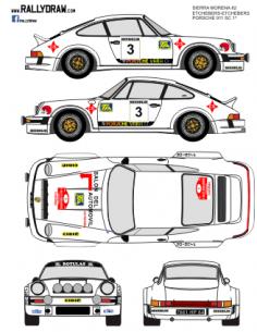 Porsche 911 Etchebers Sierra Morena 1982