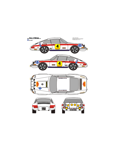 Porsche 911 Egretaud 2000 Virajes 1971