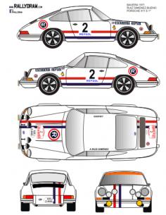 Porsche 911 Ruiz Gimenez Baviera 1971