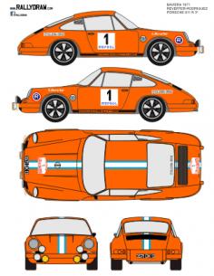 Porsche 911 Reverter Baviera 1971