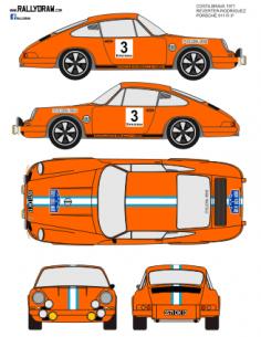 Porsche 911 Reverter Costa Brava1971