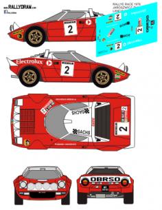 Lancia Stratos Jaroscewicz Race 1976