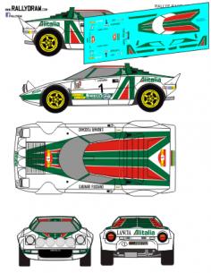 Lancia Stratos Munari Race 1977