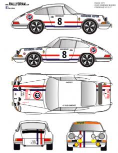 Porsche 911 Ruiz Gimenez Race 1971