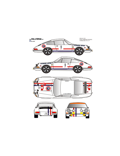 Porsche 911 Ruiz Gimenez Rioja 1971