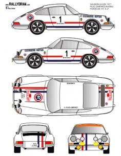 Porsche 911 Ruiz Gimenez Sherry 1971