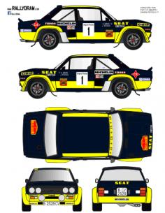 Fiat 131 Abarth Zanini Catalunya 1978
