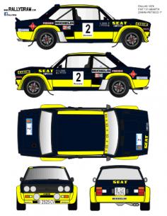 Fiat 131 Abarth Zanini Fallas 1978