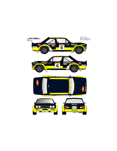 Fiat 131 Abarth Beny Race 1978
