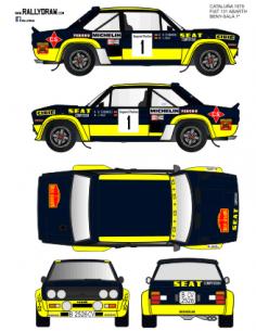 Fiat 131 Abarth Beny Catalunya 1979