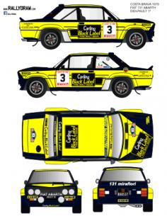 Fiat 131 Abarth Didi Costa Brava 1979