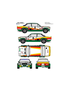 Fiat 131 Abarth Fombona Baviera 1981