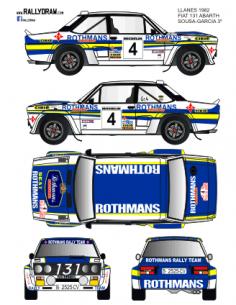 Fiat 131 Abarth Sousa Llanes 1982