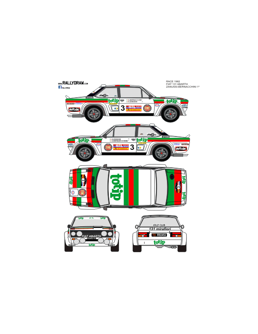 Fiat 131 Abarth Zanussi Race 1982